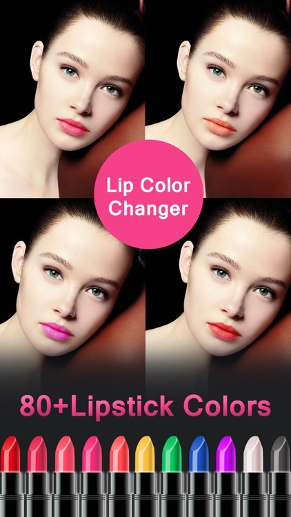 Lip Color Changer - Makeup Booth to Change Lipstick Shades & Got Glossy Lips