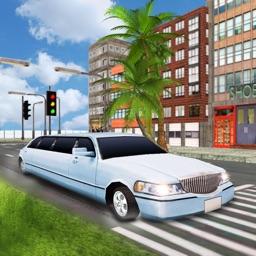 Luxury Limousine Taxi City Car Driving 3D
