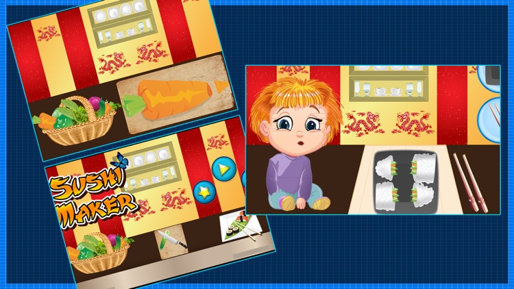Sushi Maker – Make food in this cooking chef game for kids screenshot-3