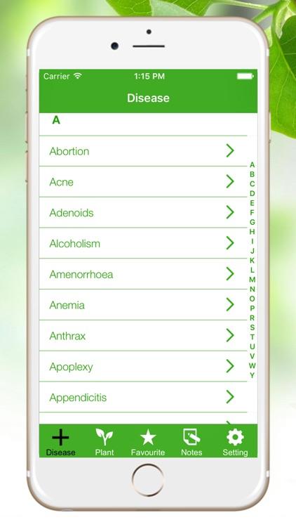 Medicinal Herbal Plants & Cures Herbs Free screenshot-4