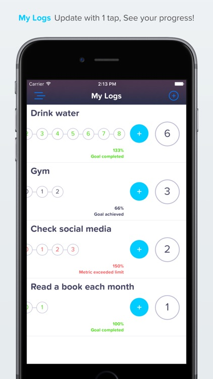 My logs - Track Habits, Daily Routine Productivity