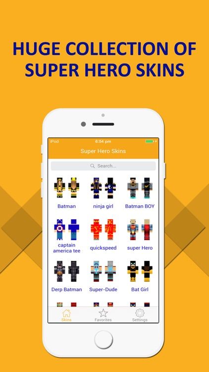 Best SuperHero Skins - Ultimate Collection for Minecraft PE & PC