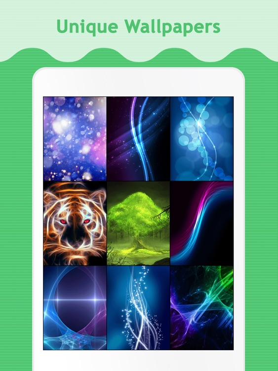 Glow Wallpapers & Backgrounds for iPad