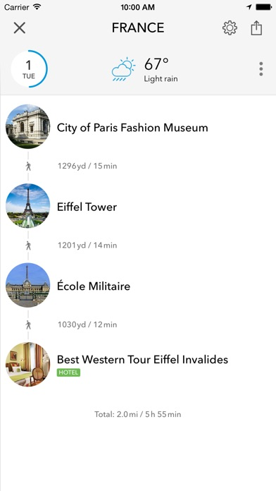 France Trip Planner Travel Guide & fline City Map for Nice Lyon