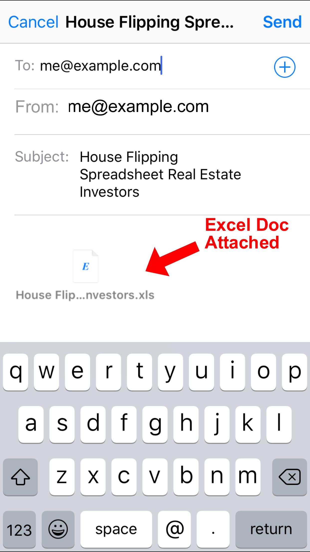 House Flipping Spreadsheet Real Estate Investors Screenshot