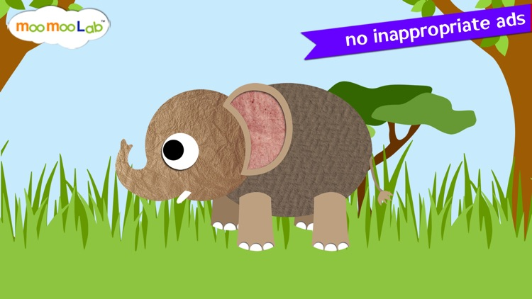 Zoo Animals - Animal Sounds, Puzzles and Activities for Toddlers and Preschool Kids by Moo Moo Lab