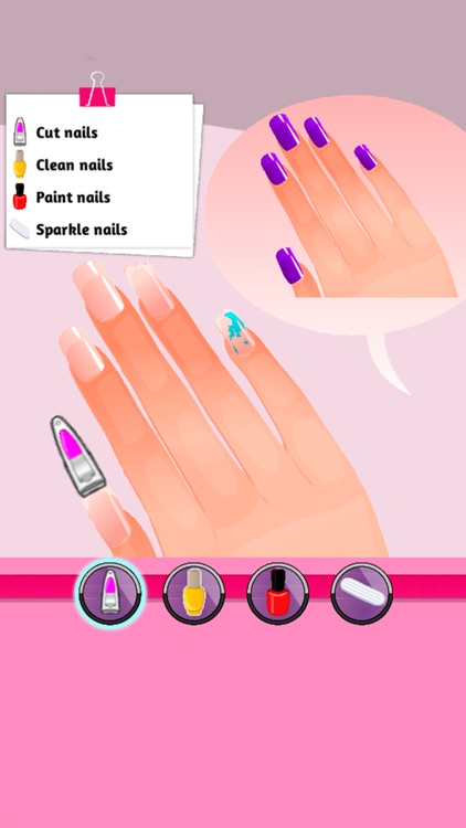 A-List Girl: Nail Salon 2 screenshot-1