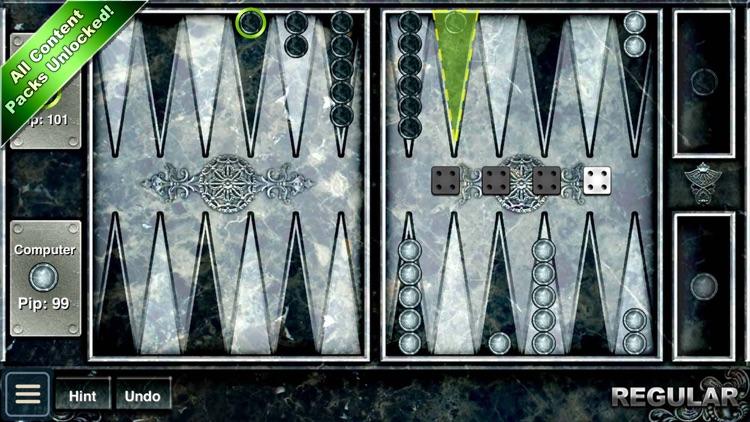 Backgammon HD - Play the Online Board Game! screenshot-4
