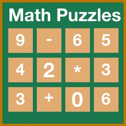 Math Puzzles - Are you smarter then kids, solve simple Board Game