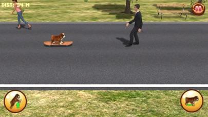 Bulldog on Skateboard 3Dのおすすめ画像3