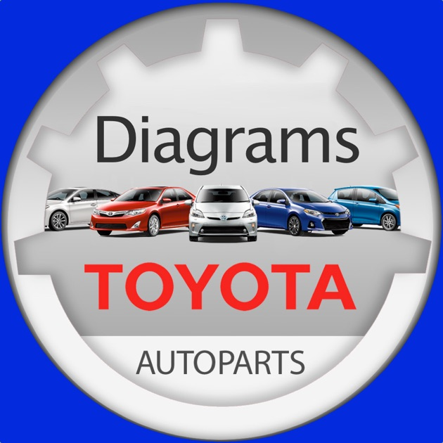 Toyota Parts Diagram & VIN on the App Store
