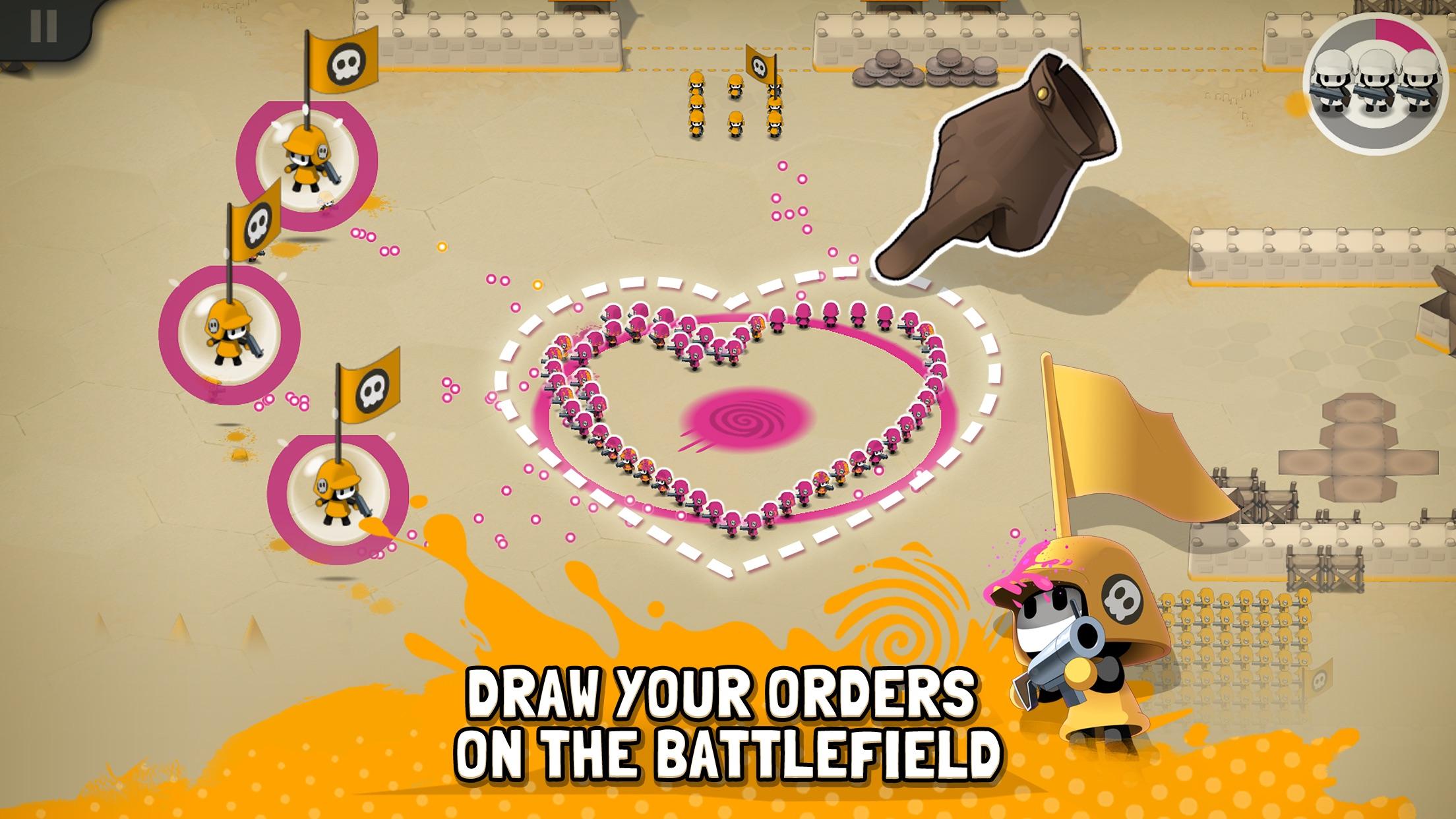 Tactile Wars Screenshot
