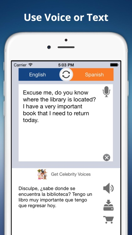 Translator - Voice to Voice Translation