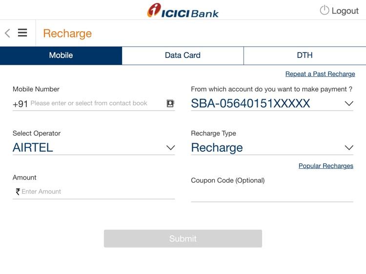 ICICI Bank iMobile screenshot-3