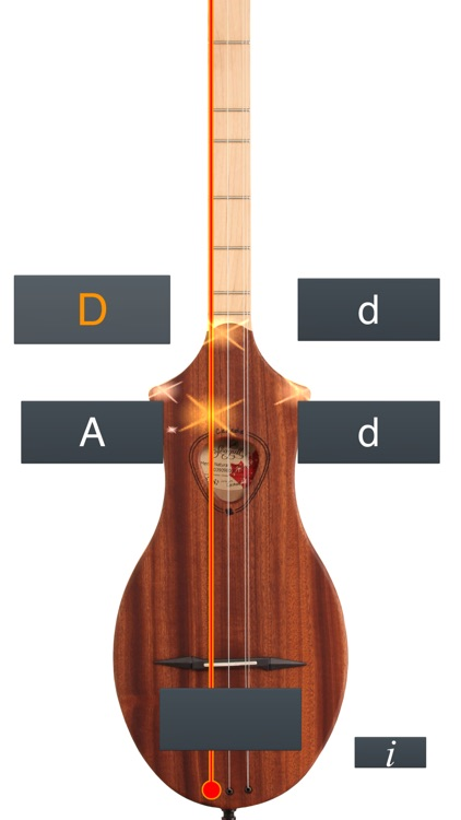 Dulcimer Tuner Simple Mixolydian screenshot-0