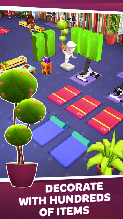 Dream Gym – Build Your Own Fitness Empire! screenshot-3