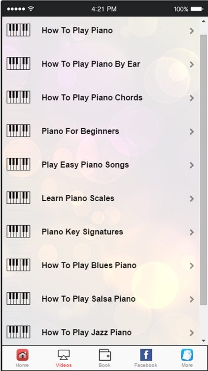 Learn to Play Piano‎ -  Simple Tips for Playing The Piano screenshot-1