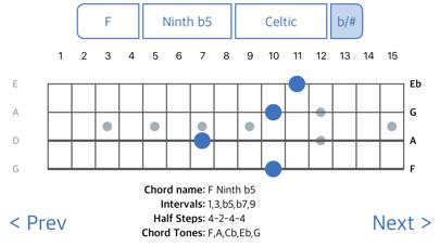 ChordFinder for Tenor Banjo screenshot three