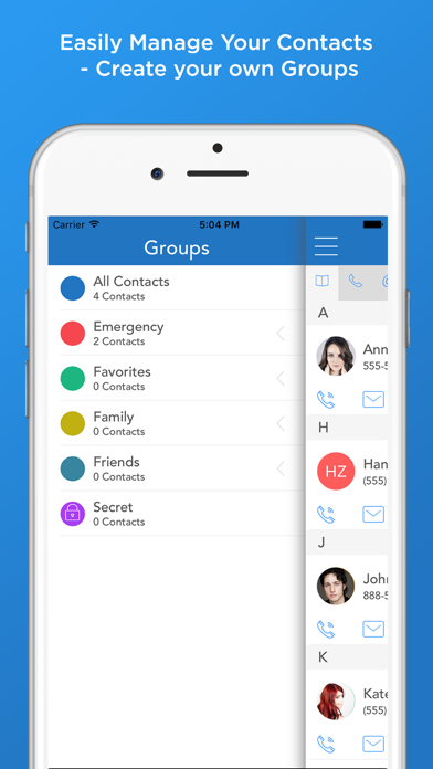 Quick Connect - The complete Contacts Manager with one tap Call