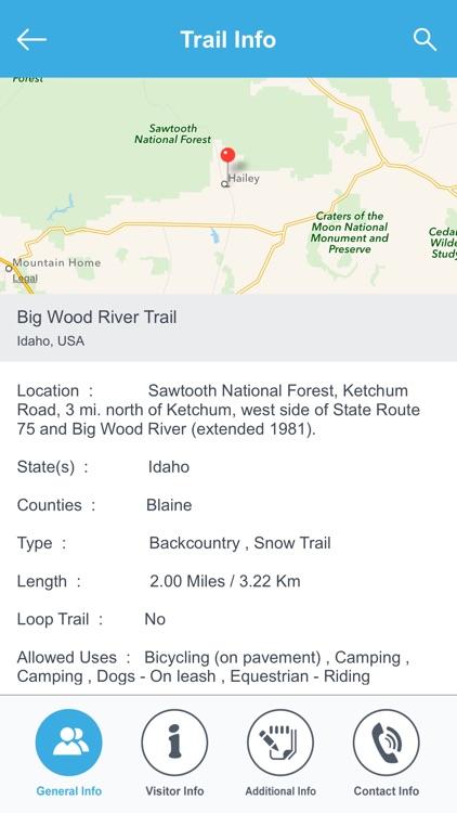 Idaho Recreation Trails