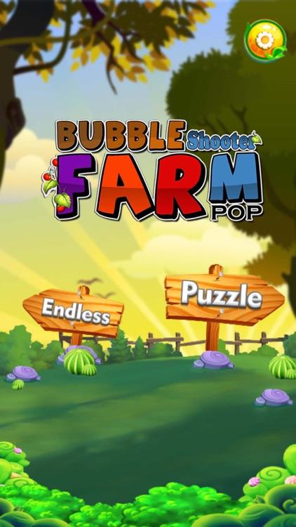 Bubble Shooter Farm Pop