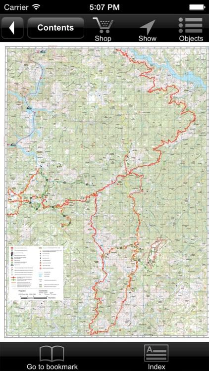 Puka. Tourist map