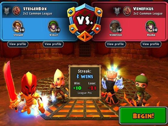 Dungeon Quest на iPad