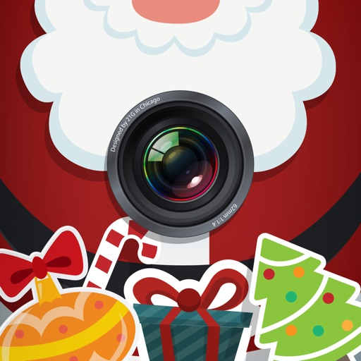 Christ.mas Photo Editor - Make yourself Santa with Camera Booth Sticker.s icon