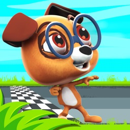 Dog Racing Game – Cute Puppy Speed Runner - Run and Escape the Room