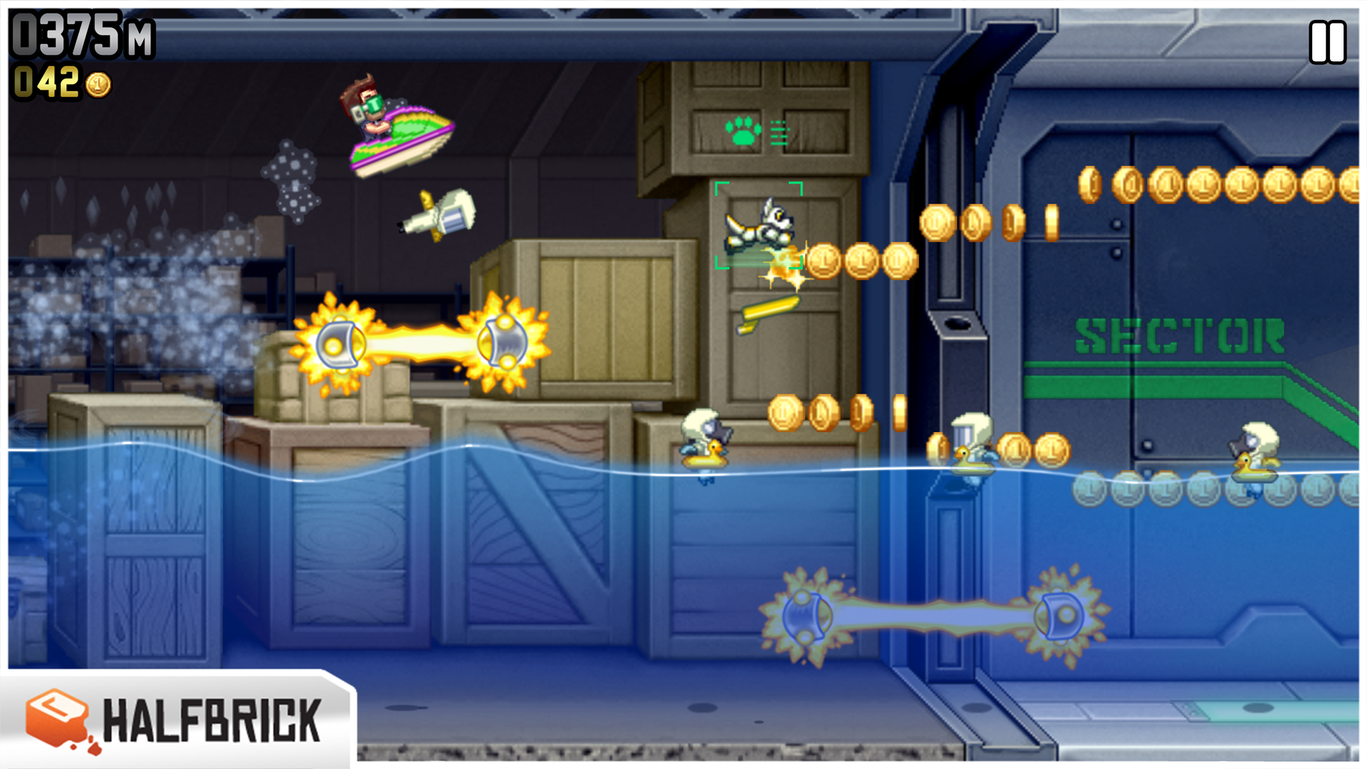 Jetpack Joyride screenshot 12