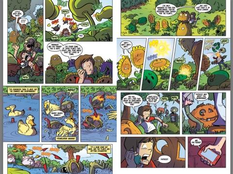 Plants vs. Zombies: Lawnmageddon #3 by Paul Tobin on iBooks