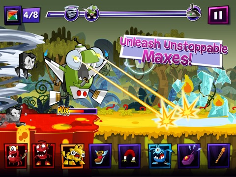 Mixels Rush tablet App screenshot 3