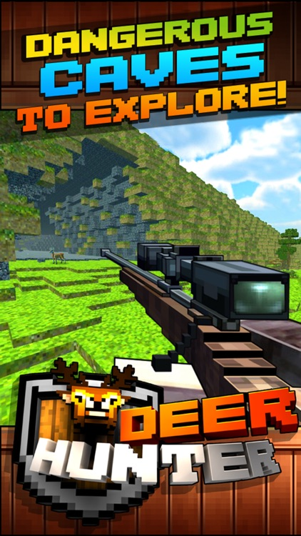 Wild Deer Hunt-ing Survival Pixel World 2016 - Mini Hunter screenshot-4