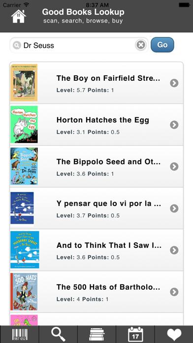 Good Books Lookup screenshot two