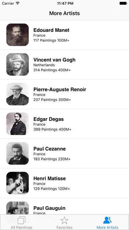Monet 308 Paintings HD screenshot-4