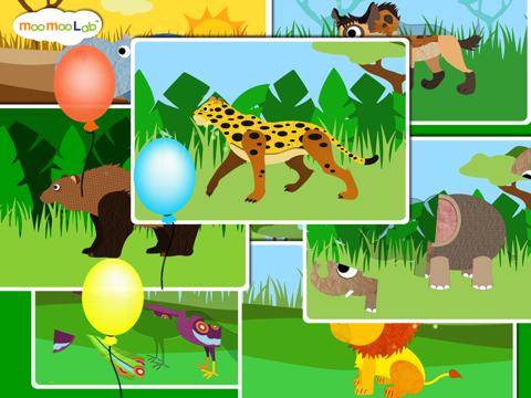 赤ちゃん動物園の動物, 野生動物 - アクティビティ, ドローイング, お絵かき, パズル by Moo Moo Labのおすすめ画像3