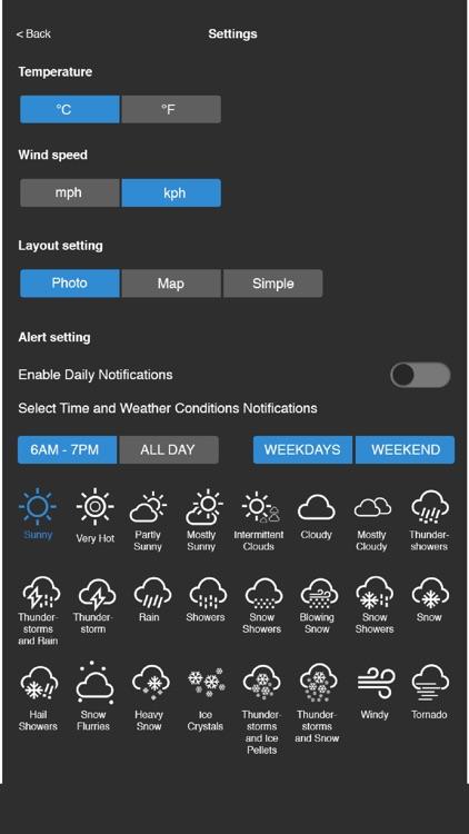 Asecro World Weather screenshot-4