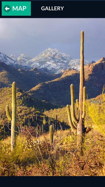 Sabino Canyon Trail Map Offline