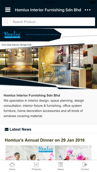 Homlux screenshot one