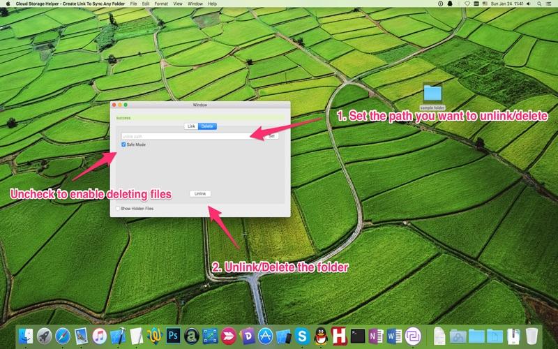 Cloud Storage Helper - Create Link To Sync Any Folder screenshot 4