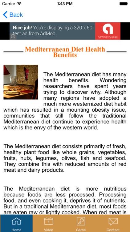 Mediterranean Diet - #1 Diet Recipes and Diet Plan