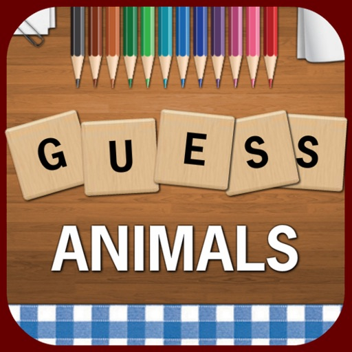 Guess Animals - Best Free Animal Guessing Word Search Game