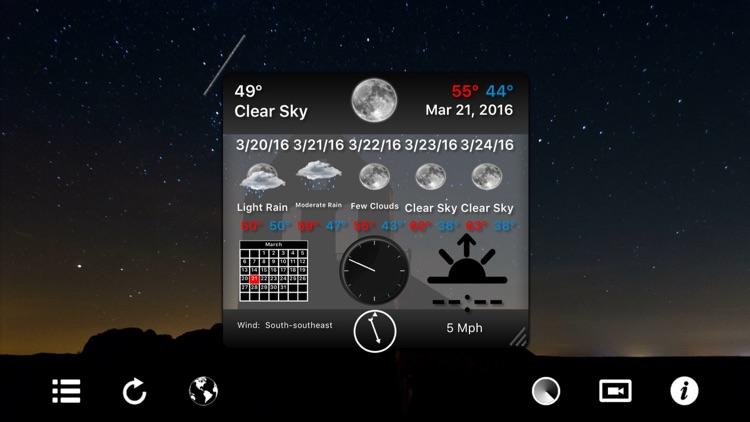 Motion Weather 4K - Ultra HD Moving Weather screenshot-3