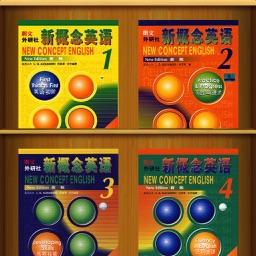 新概念英语全四册大全 -语音文本同步最新有声精品1-4册,随时随地跟我学经典品牌教程合集,一月强化训练随身听完美红宝书