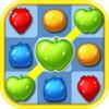 フルーツリンクマニア - Ace Fruit Connect Sugar Mania HD 2 - Fruits Link Best Match 3 Puzzle Game Free