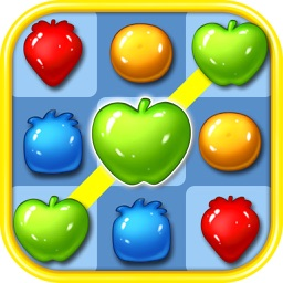 Ace Fruit Connect Sugar Mania HD 2 - Fruits Link Best Match 3 Puzzle Game Free