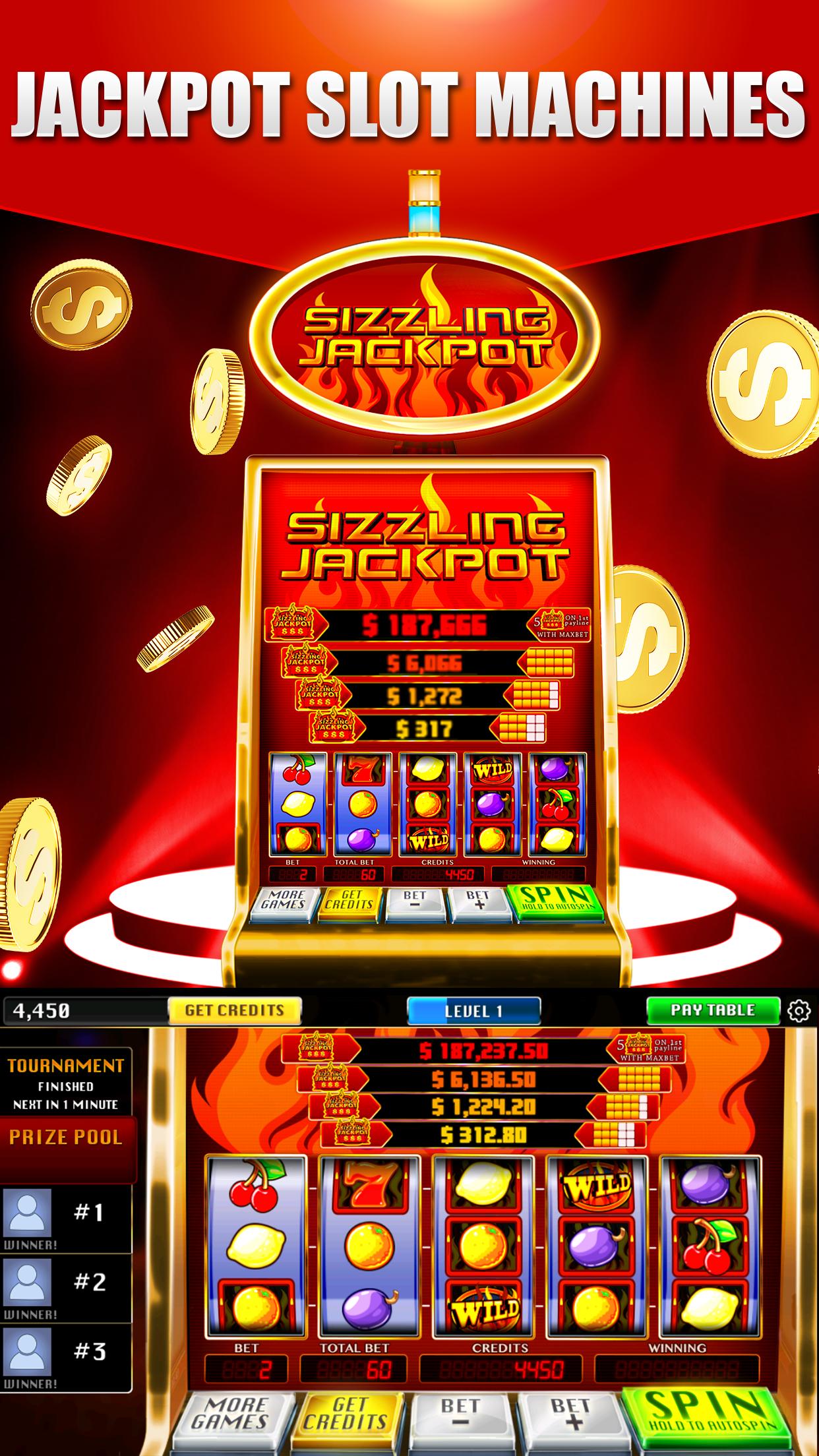 Real Vegas Slots Casino Screenshot
