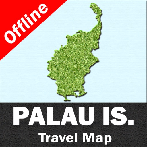 PALAU ISLANDS – GPS Travel Map Offline Navigator