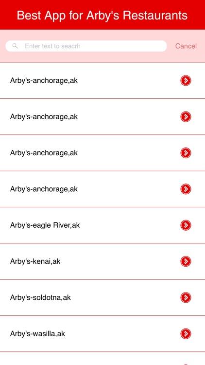 Best App for Arby's Restaurants