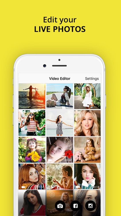 Video Snap Editor - Movie make.r & editor for Snapchat screenshot-4